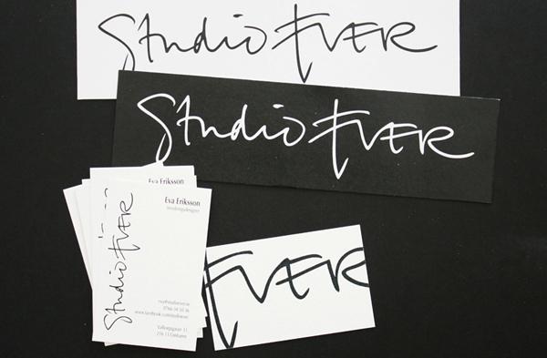Studio Ever logotyp och visitkort