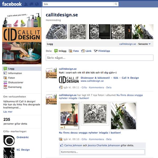 Call It Design på facebook