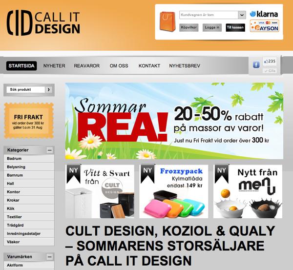 Många fina märken hos Call It Design