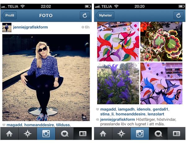 jenniejgrafiskform på Instagram