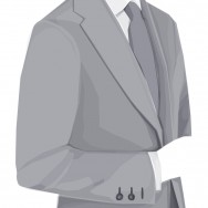 Kostymval öppningsbara knappar