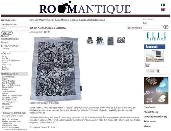 Roomantique produkt