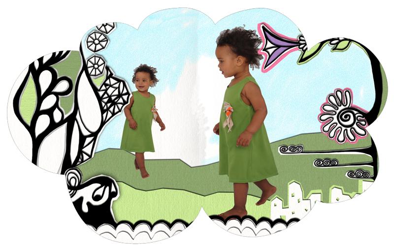 Illustration till vår/sommar kollektionen