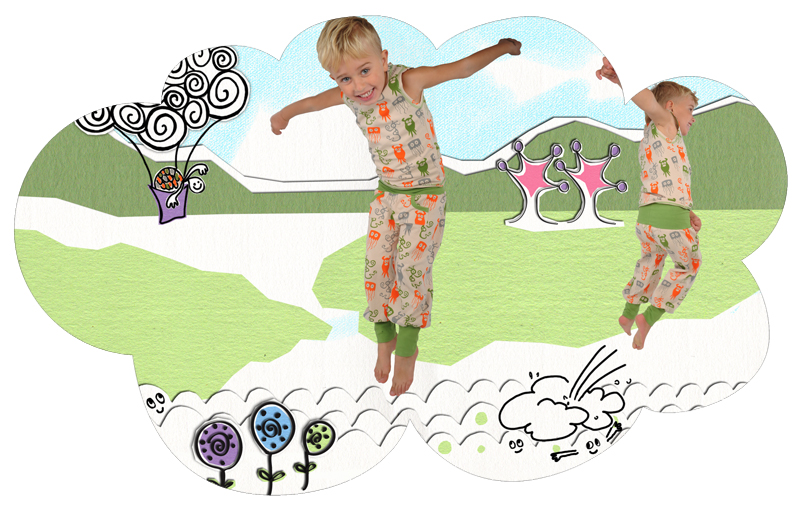 Illustration till vår/sommar kollektione