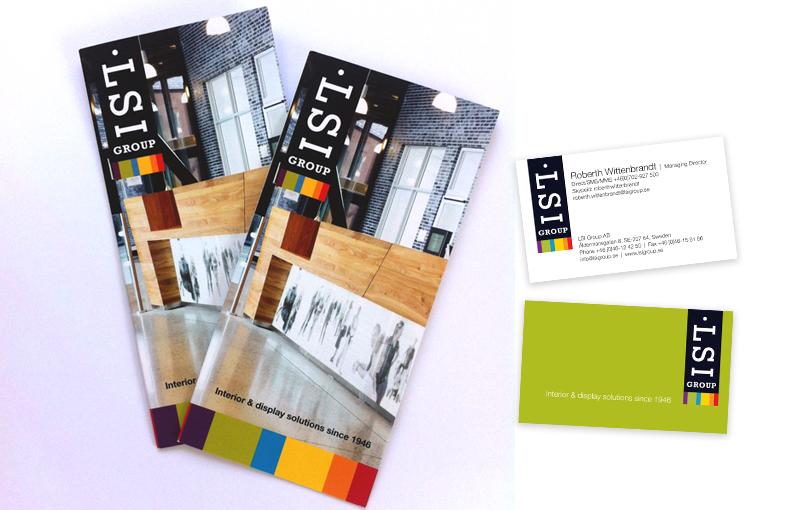 LSI Group folder + visitkort